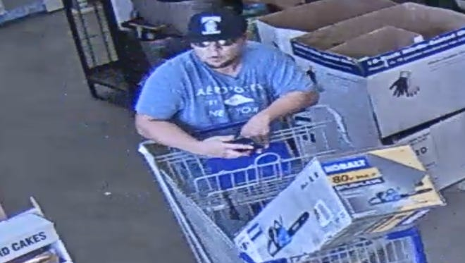 Corpus Christi police are asking the public to help identify this man, who is one of two suspects in a stabbing that happened around 5:30 p.m. Sunday, July 2, 2017, at a home improvement store.