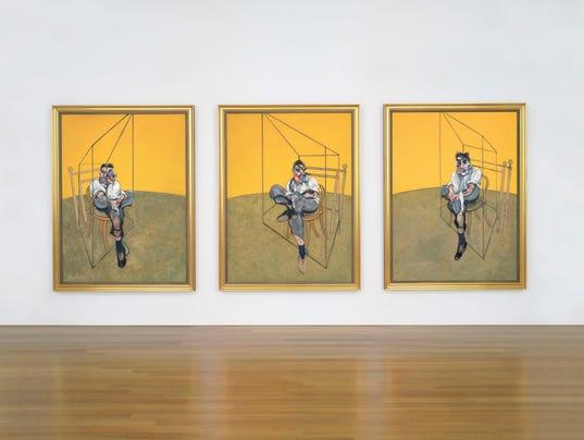 Francis Bacon triptych