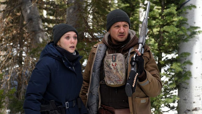 """Elizabeth Olsen and Jeremy Renner star in """"Wind River."""""""