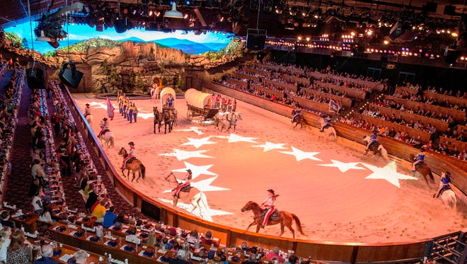 The Dixie Stampede will begin its 30th season on Friday, Jan. 13, with a show at 6 p.m.