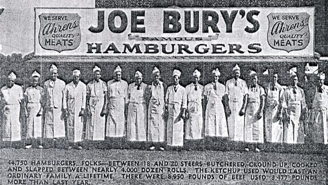 Joe Bury's Hamburgers were a York County staple, with 11 restaurants in York at the company's peak.