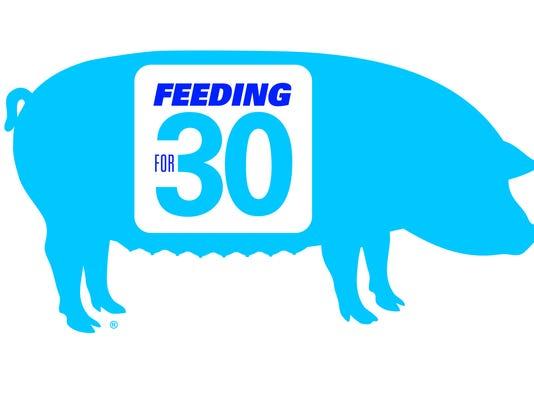 Feeding for 30