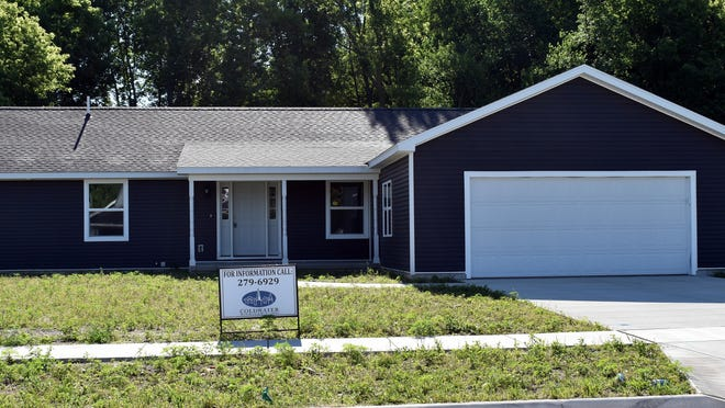 The city of Coldwater has a sale pending for the MSHDA grant home at 74 Thompson Blvd.