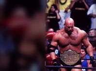 Goldberg defends the WWE RAW universal championship    against Brock Lesnar at WrestleMania.