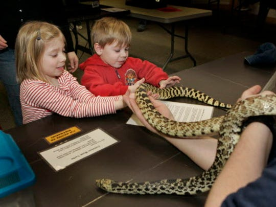 Learn about the critters that live at Wehr Nature Center this month.