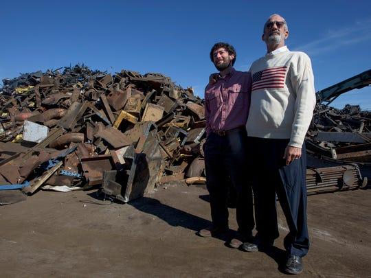 Sean and Keith Sabel at Sabel Steel in Montgomery,