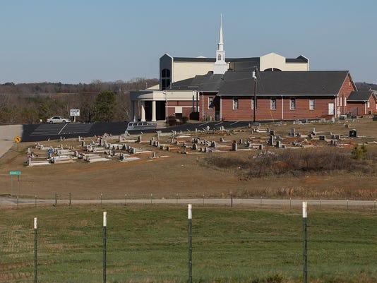 Churches Generostee Baptist in Starr