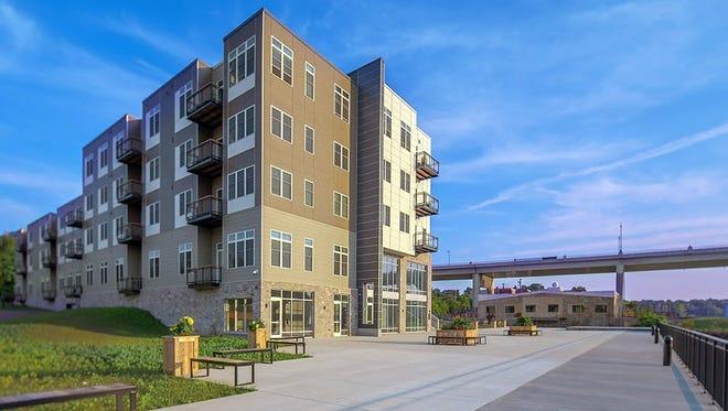 RiverHeath's Evergreen building on Appleton's Fox River.