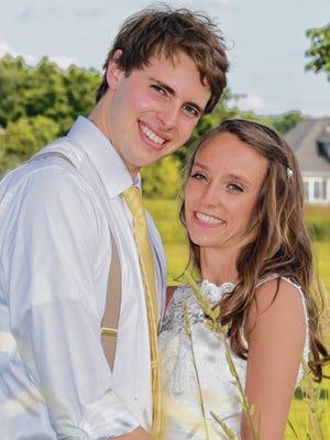 Caitlin Pecor and Ethan Bellavance