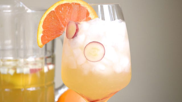 White Wine Sangria is lighter in alcohol compared with traditional versions.
