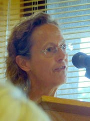 Jan Naslund verbally unloaded the reams of research she accumulated, and contended village officials' failure to convene a task force with neighbors as members doomed the effort.