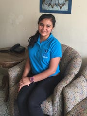 Ana Rios, 19, works at the Shalom Foundation in Guatemala