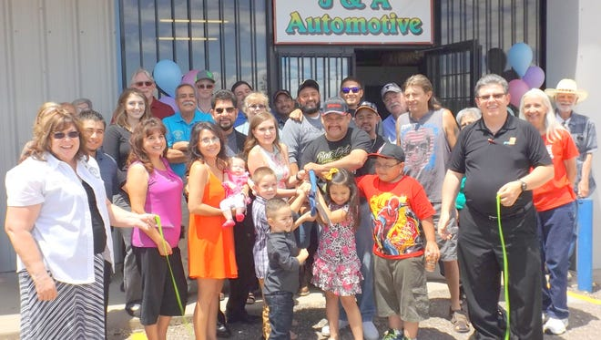 J & A Automotive held its grand opening Friday.