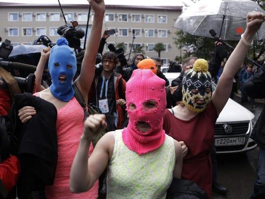 Morry Gash, AP Russian punk group Pussy Riot members