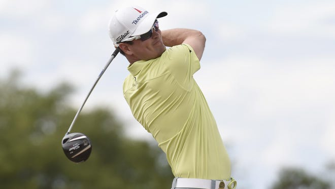 Zach Johnson posted second straight 72 at U.S. Open Friday.