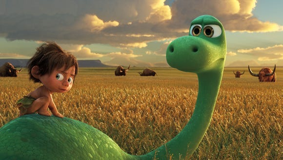 "But how about that incredible animation in ""The Good Dinosaur""?"