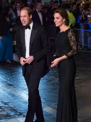 Will and Kate attend Royal Variety Performance Nov.