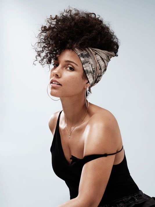 Alicia Keys: 'I've come to a place where I can be honest and raw'