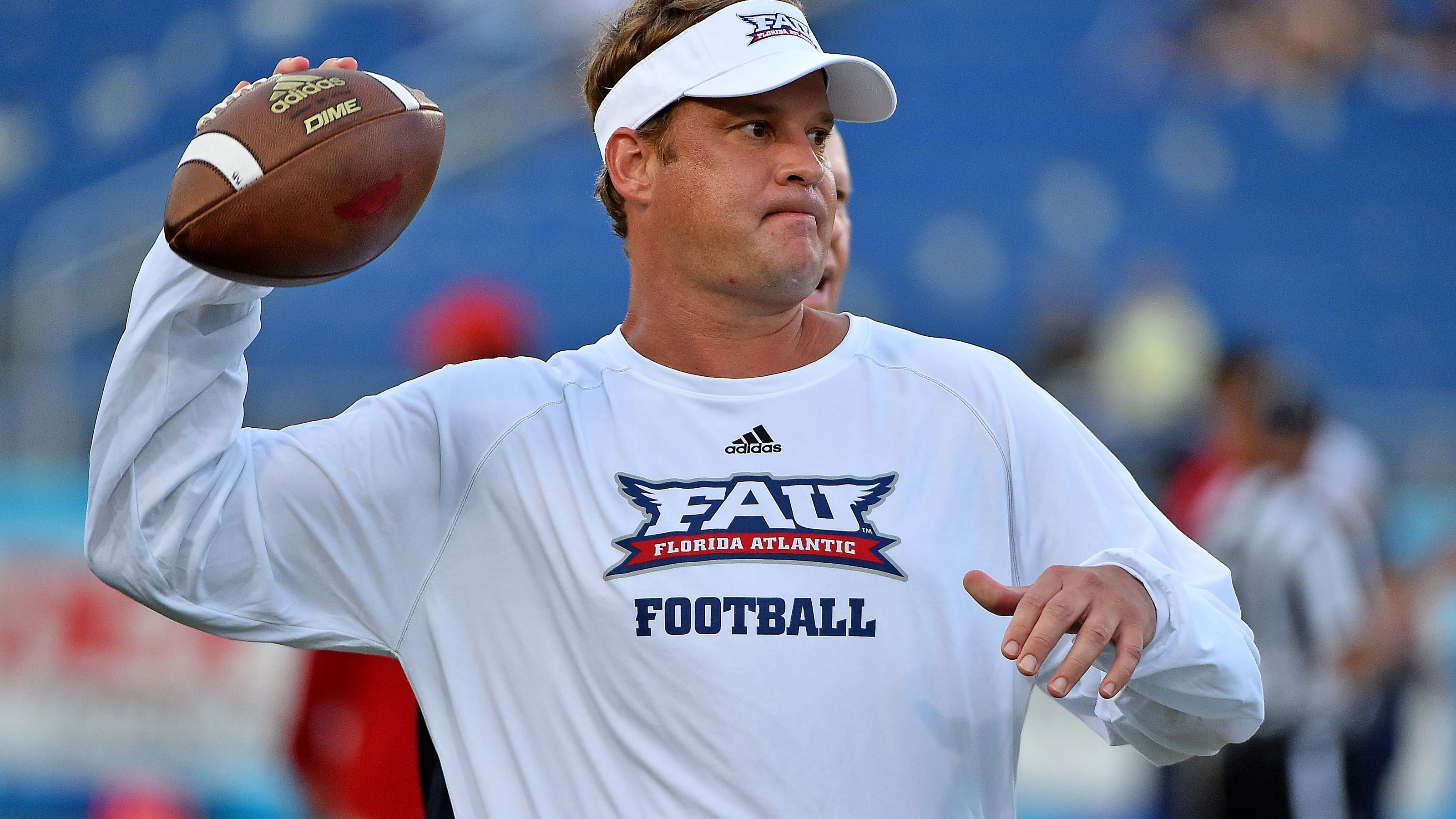 Image result for Lane Kiffin tweeted a Florida Atlantic scholarship offer to a six-month-old infant