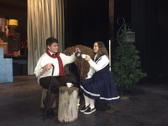 Students from Pacelli Catholic High School will perform in a production of Narnia the Musical this weekend.