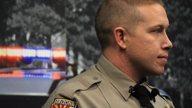 Arizona Department of Public Safety Trooper Jonathan Otto, 33, recalled a traffic stop near Kingman that rescued a 16-year-old girl who'd been trafficked.