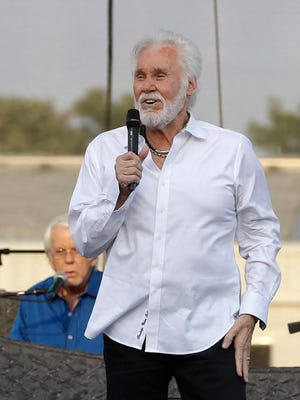 Country music legend Kenny Rogers makes a stop at the Riverside Theater Oct. 27 as part of his farewell tour.