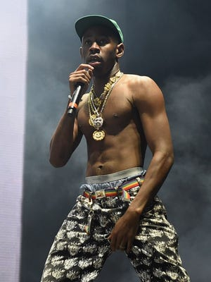 """Provocative rapper Tyler, the Creator's """"Flower Boy"""" was the most widely praised album of his career. He performs at the Rave's Eagles Ballroom March 4."""