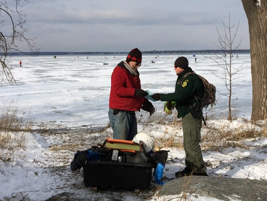 Warm winter limits ice fishing on lake champlain for How much are fishing license