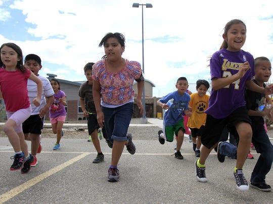 Ojo Amarillo Elementary students begin their final