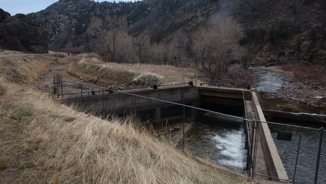 If the Northern Integrated Supply Project were built, water from the Poudre River would be diverted to Glade Reservoir via the Poudre Valley Canal.
