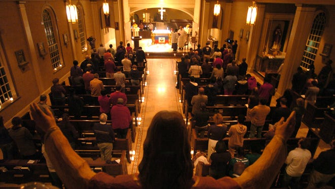 Our Lady of Wisdom Church and Catholic Student Center will host the Baccalaureate Mass, 5:30 p.m., Thursday.