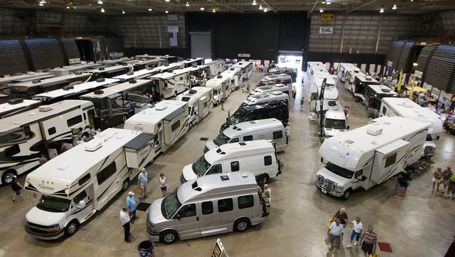 File photo of the annual Fort Myers RV Show at the Lee Civic Center in North Fort Myers.