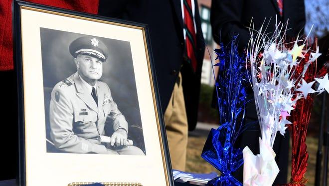 The dedication of Robert Frankland Park was held, Friday, December 1.