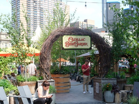 Cadillac Beer Garden opens Friday in Cadillac Square.