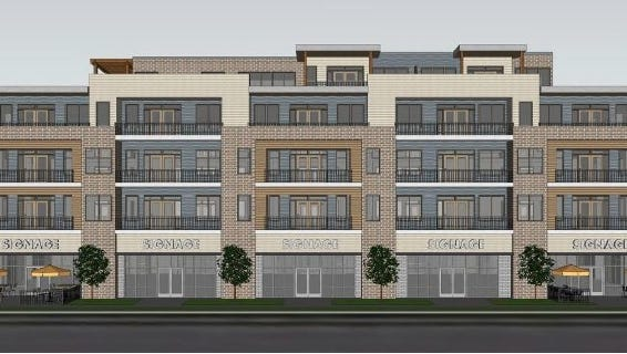 Lokre Companies has submitted a proposal for a new apartment complex in downtown Wausau.