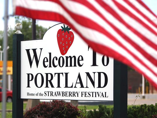 The annual Middle Tennessee Strawberry Festivalis Saturday in downtown Portland.