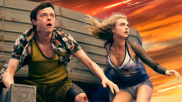 Masters of their universe: Dane DeHaan and Cara Delevingne.