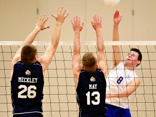 West York vs Spring Grove boys volleyball