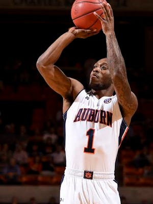 Auburn guard Kareem Canty had a team-high 21 points in a 78-71 win over Mercer on Dec. 15.