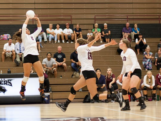The Pine View volleyball team snapped a series-long