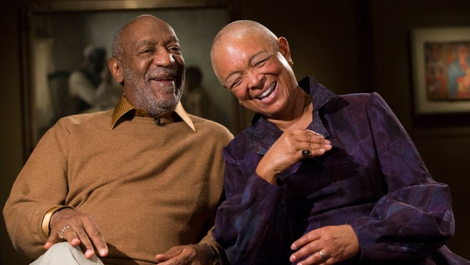 Bill Cosby and wife Camille, shown on Nov. 6, are major philanthropists.