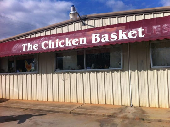 The Chicken Basket in Anderson has some of the best