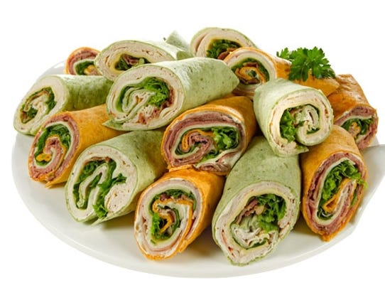 Wraps to satisfy every taste are freshly prepared and