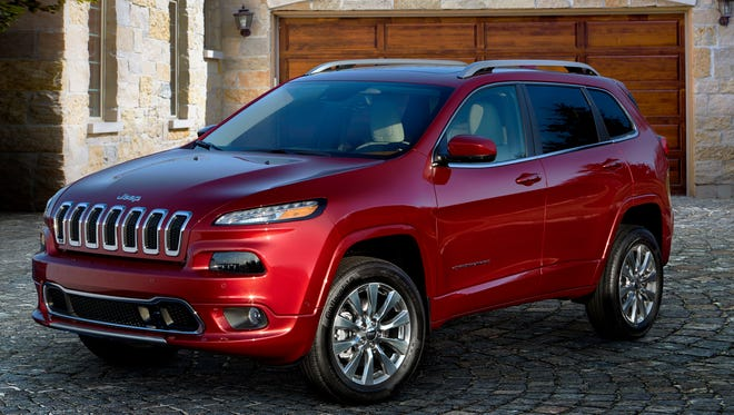 The 2018 Jeep Cherokee.