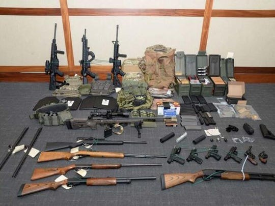 Coast Guard officer accused of plotting to kill Democratic politicians, TV news personalities