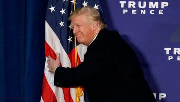 For the Record: Trump's flag-burning tweet starts flame war