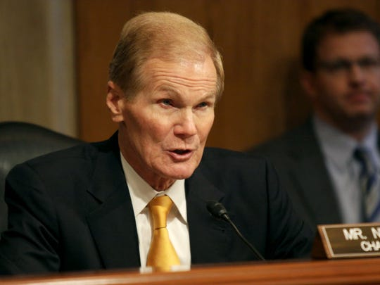 Sen. Bill Nelson, D-Fla. speaks on Capitol Hill in Washington, Wednesday, Sept. 10, 2014.