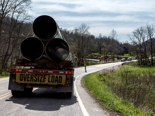 New pipelines to carry natural gas are being built