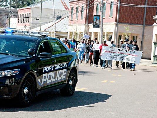 Hanging Death-Mississippi Protest
