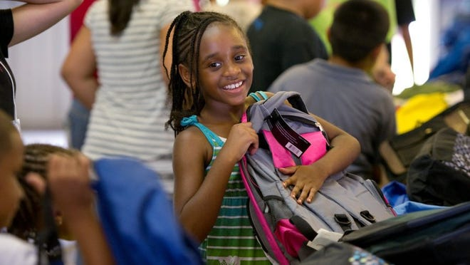 This year's Operation Hope's school supply giveaway begins at 1 p.m.  Aug. 11 at the Operation Hope office at 12285 County Road 512 in Fellsmere.